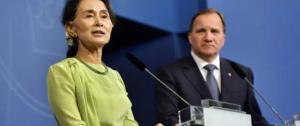 Aung San Suu Kyi June 2 2017 (TT News Agency.Henrik Montgomery via Reuters) June 13 2017