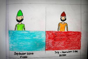 Kashmir children's art #5