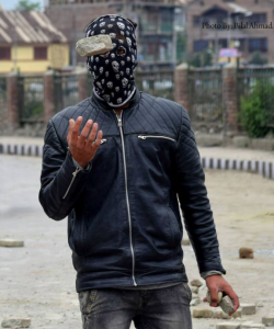 Kashmir protester by Bilal Ahmad on May 16 ?June 2 2017