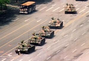 Tank Man (Jeff Widener) June 5th 1989