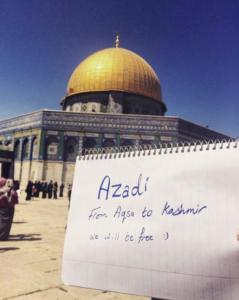 Al Aqsa- from aqsa to kashmir July 24 2017