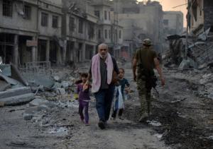 Displaced in Mosul (Reuters:stringer) July 5 2017