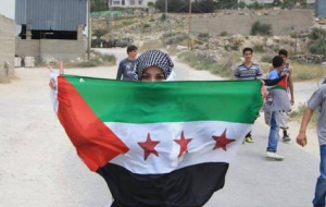 For Palestine, for Aqsa mosque tweeted from Lina shamy in Syria