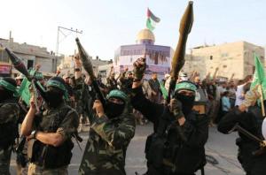 Hamas in Gaza (Ibraheem Abu Mustafa:Reuters) July 26 2017