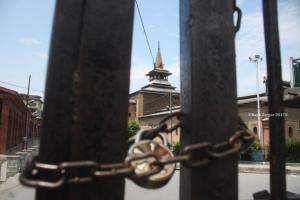 Jamia Masjid, Srinagar July 27 2017 (Basit Zargar) July 28 2017