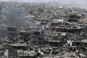 Mosul liberated July 10 2017 (Julian Ropcke tweet)