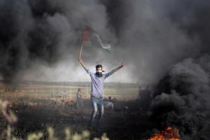 Palestinian Intifada (Mohammed Dahman APA images) July 9 2017
