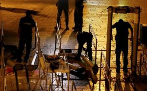 Removing metal detectors at Al Aqsa July 25 2017 (Reuters)