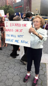 I escaped the Nazis once.... Aug 13 2017