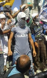 Kashmir stands with Gaza Aug 1 2017