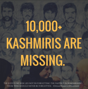 Kashmiri disappeared Aug 30 2017