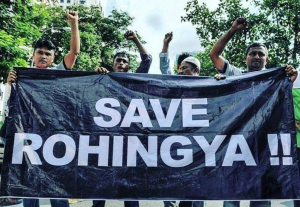 Save Rohingya banner