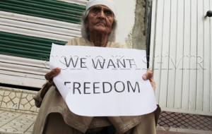 We Want Freedom (Rising Kashmir via Ovais Manzoor) Aug 2 2017