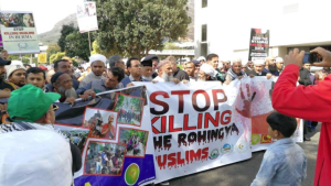 Cape Town stands with Rohingya 9:13:2017 (via Nasreen Rhoda) Sept 13 2017