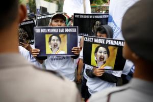 Jakarta, Indonesia Sept 4 for Rohingya (Darren Whiteside:Reuters) Sept 7 2017