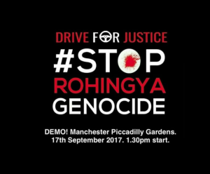 Manchester stands with Rohingya