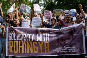 New Delhi stands with Rohingya (Zulkarnain Banday) Sept 13 2017