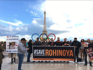 Paris stands with Rohingya