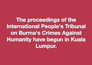 People's tribunal meme