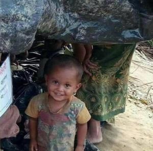 -Rohingya child
