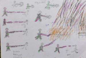 Rohingya child art (2)