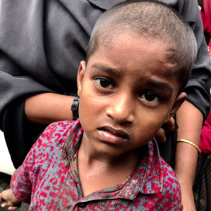 Rohingya child unable to speak (Shafiur Rahman) Sept 4 2017