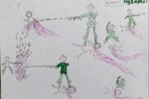 Rohingya children's art testifies to genocide (Jamila Hanan) Sept 23 2017