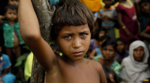 Rohingya girl at camp (KM Asad:AFP:Getty Images) Sept 12 2017