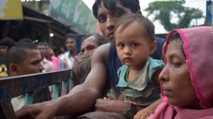 Rohingya refugees near Kutupalong camp near Cox's Bazar (CNN) Sept 5 2017