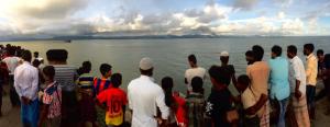 Rohingya watching village burn (Jonathan Miller Ch 4) Sept 14 2017