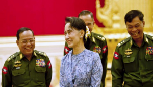 Suu Kyi and the generals