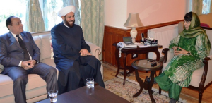 The grand mufti of Syria & Kashmiri chief minister (Kashmir Life) Sept 30 2017