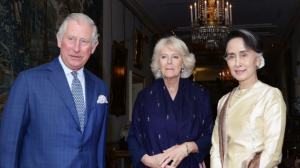 Charles & Camilla with Suu Kyi May 5 2017 (AFP:POOL:John Stillwell)