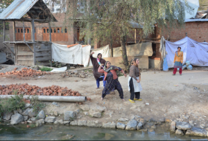 Kashmir women stone pelters vs. death of Zahid Rasool Bhat 10:9:2015 (GK) Oct 12 2017