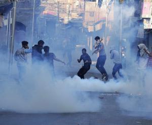Maisuma, Srinagar city protest Oct 16 2017 (Basit Zargar) Oct 21 2017