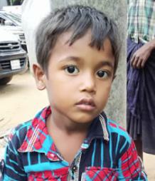 Ro 3 yr old Ahad orphaned (Dhaka Tribune) Oct 30 2017