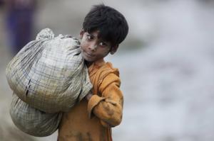 Ro boy at Cox's Bazar (AP Photo:Bernat Armangue) Oct 2 2017