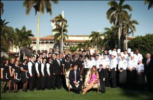 Trump and mar a lago staff