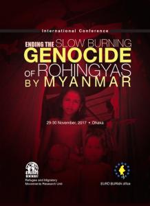 Dhaka Bangladesh conference on Rohingya Nov 28 2017
