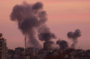 Israeli bombing in Gaza (Palestine Observer) Nov 30 2017