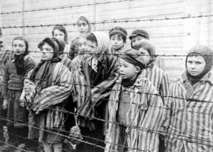 Jewish children in concentration camp Nov 23 2017