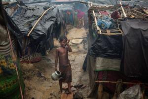 Little Ro boy in Bangladesh camp Nov 17 2017
