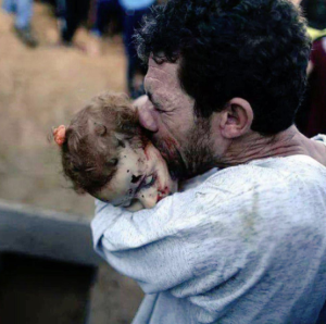 Man grieving child Nov 2017