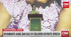 Suu Kyi keynote ASEAN speech Nov 13 2017