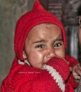 Child of Kashmiri Mysara Banu Dec 12 2017