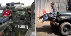 Human shields Palestine & Kashmir