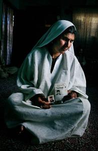Misra, Kashmiri mother of Shabir Ahmed Ghasi, 21, disappeared in 2000 ((Lost Kashmiri History) Dec 13 2017