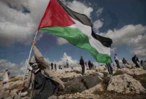 Palestinian flag Dec 7 2017