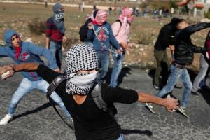Palestinian stone pelters (REUTERS:Goran Tomasevic) Dec 11 2017