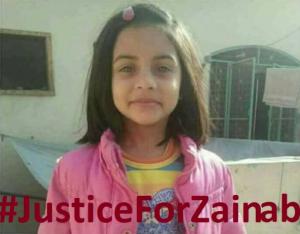 Justice for Zainab Jan 11 2018